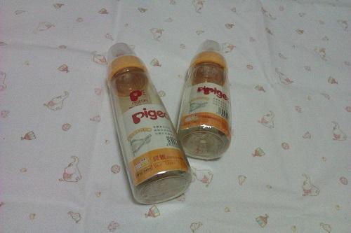 pigeon-PPSU材質的奶瓶