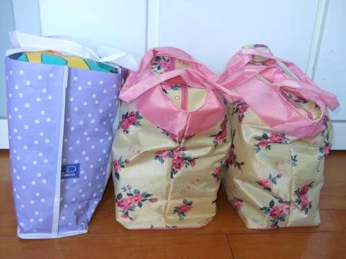 待產包整理好共三大袋
