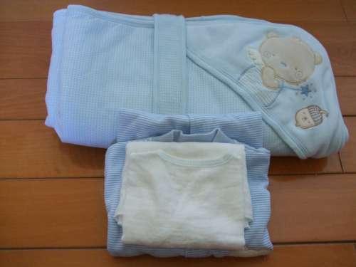 寶寶用品 - 出院衣物、寶寶包巾