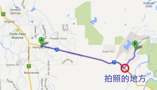 實際的路線圖 27公里左右