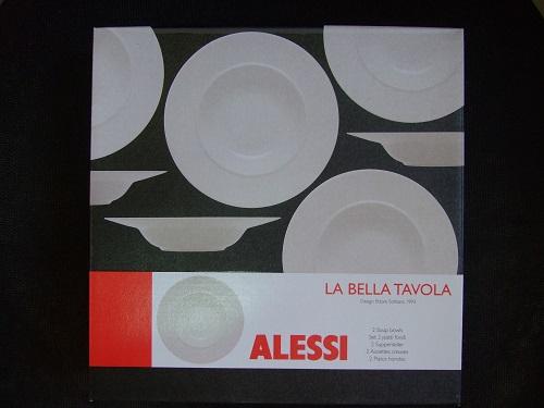 免費兌換了三組ALESSI商品